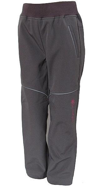 Softshellové kalhoty Wolf dívčí (B2782), vel. 134, šedá