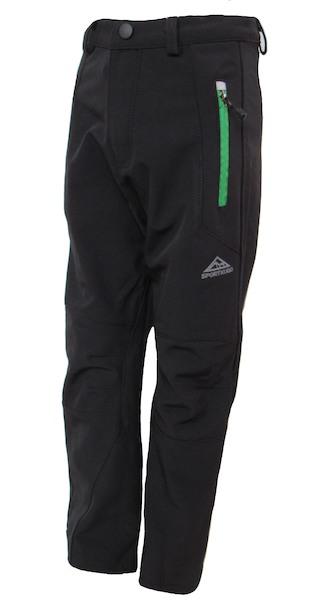 Softshellové kalhoty Kugo (B610), vel. 146, černá
