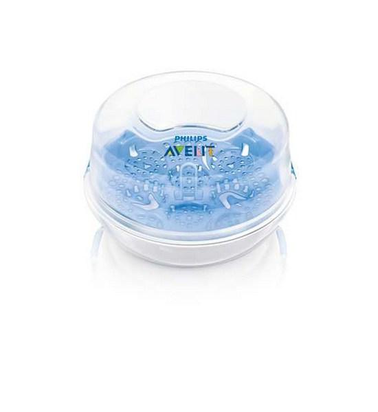 Sterilizátor do mikrovlnné trouby Avent, Bílá