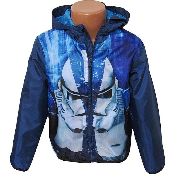 Šusťáková bunda Star Wars (DQE1186), vel. 140, tm. modrá
