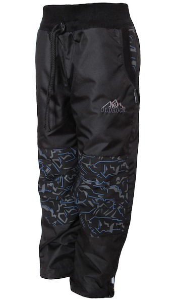 Šusťákové kalhoty Dráče Twister (DR4211), vel. 98-104, černá