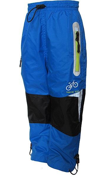 Šusťákové kalhoty Kugo (K602), vel. 122, Modrá