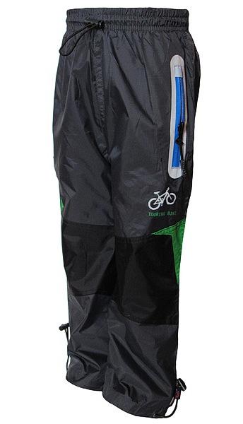 Šusťákové kalhoty Kugo (K602), vel. 110, tm. šedá