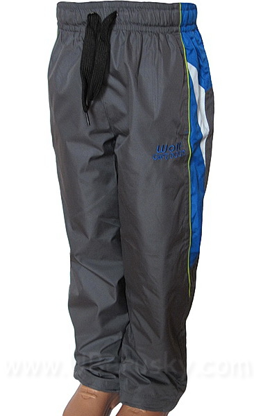 Šusťákové kalhoty Wolf (T2662), vel. 128, šedá