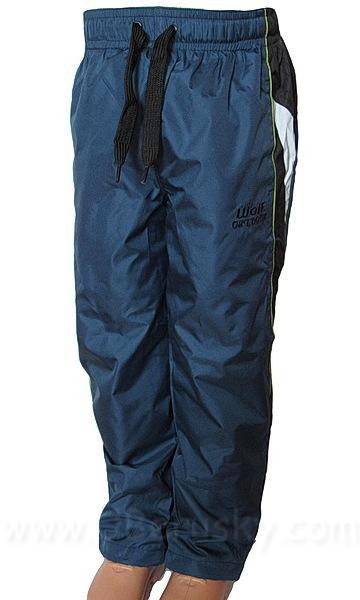 Šusťákové kalhoty Wolf (T2662), vel. 116, petrolejová
