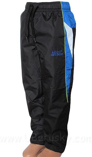 Šusťákové kalhoty Wolf (T2662), vel. 134, černá