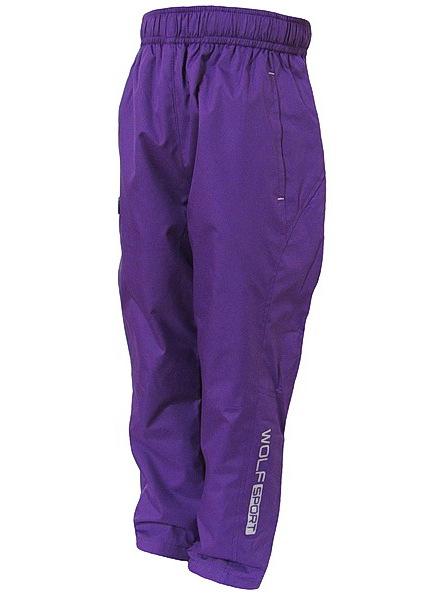 Šusťákové kalhoty Wolf (T2751), vel. 110, šedá