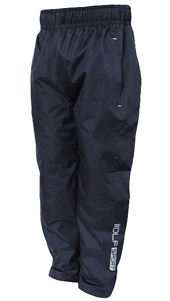 Šusťákové kalhoty Wolf (T2751), vel. 128, tm. modrá