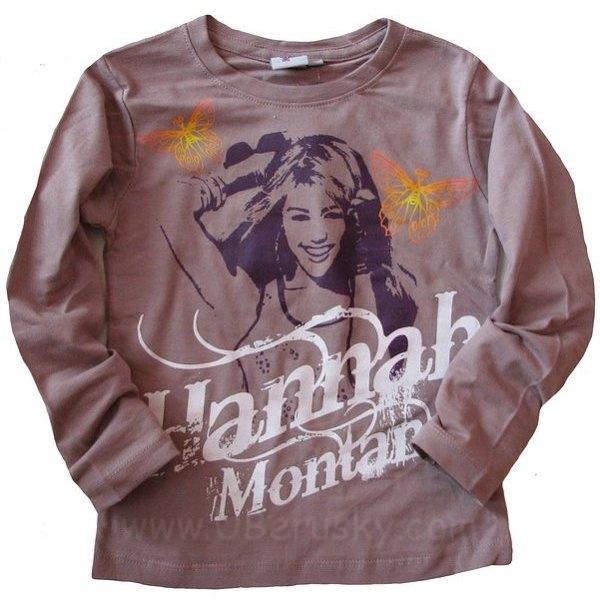 Triko Hannah Montana, vel. 128