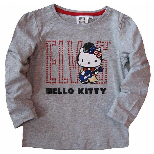 Triko Hello Kitty, vel. 116, šedá