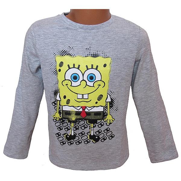 Triko Sponge Bob (Nh6560), vel. 98, šedá