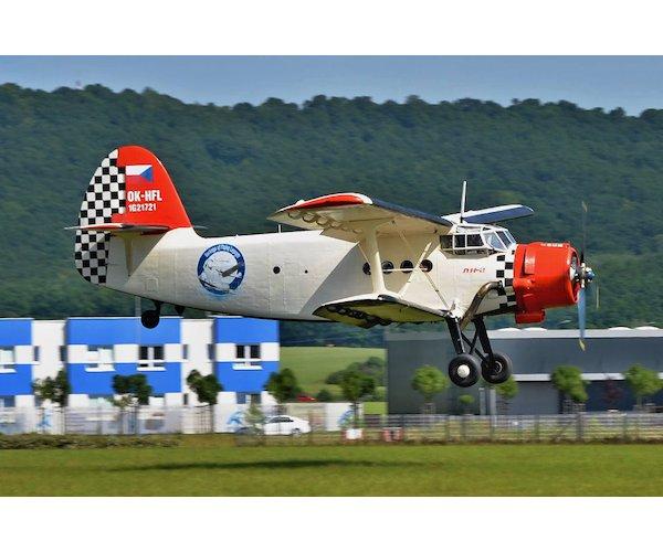 Vyhlídkový let z Hradce Králové historickým letadlem AN-2 - pro 12 osob, vel. 20 minut