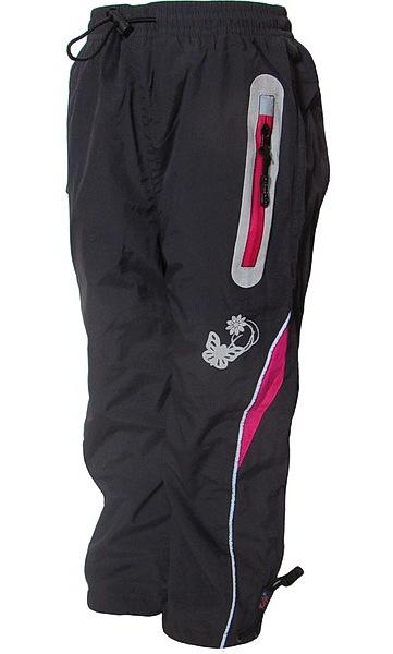 Zateplené kalhoty Kugo (H213), vel. 98, šedá