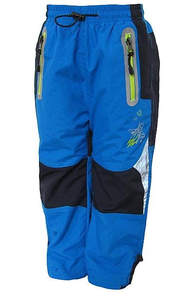 Zateplené kalhoty Kugo (K307), vel. 98, tyrkysová