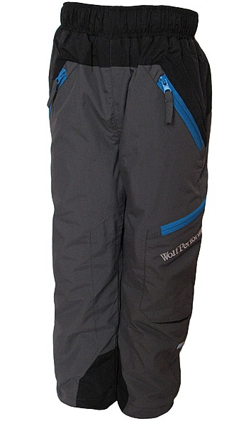 Zateplené kalhoty Wolf (B2672), vel. 116, šedá