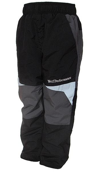 Zateplené kalhoty Wolf (B2674), vel. 116, černá