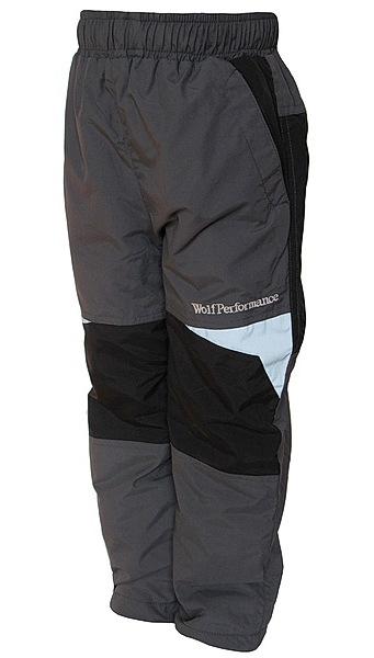 Zateplené kalhoty Wolf (B2674), vel. 128, šedá