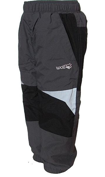 Zateplené kalhoty Wolf kojenecké (B2673), vel. 92, šedá