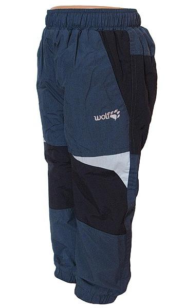 Zateplené kalhoty Wolf kojenecké (B2673), vel. 92, petrolejová