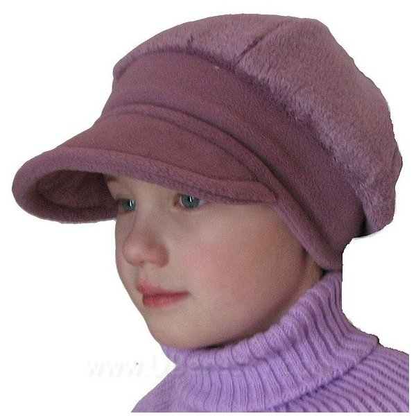 Zimní bekovka, vel. 116, fialovo-bordoo