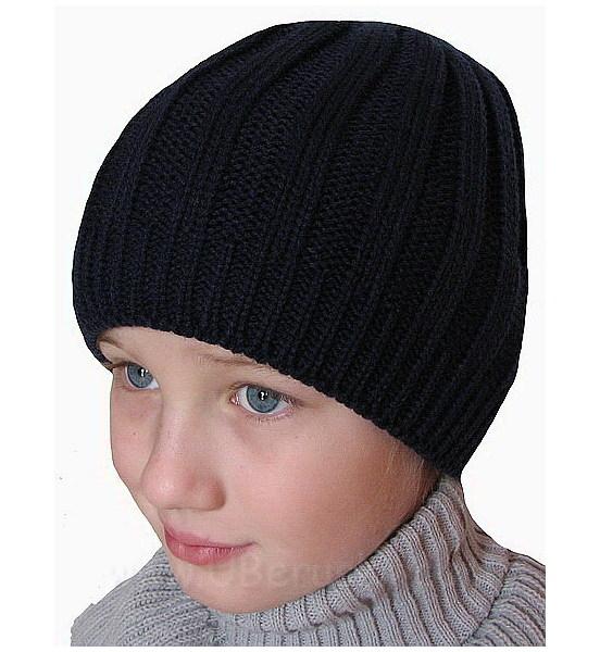 Zimní čepice (H030), vel. 104-116, černá