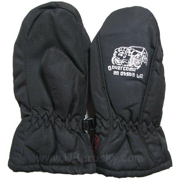 Zimní palčáky, vel. 98, černá