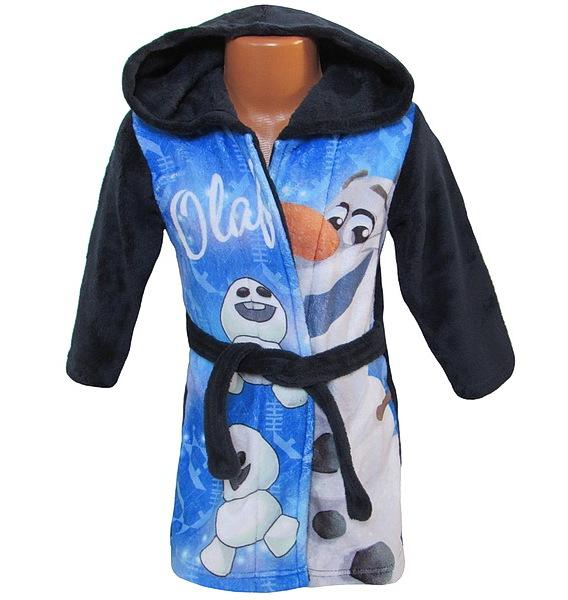 Župan Frozen Olaf (Ph2177), vel. 104, tm. modrá