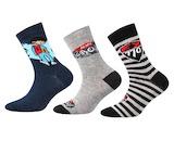 Ponožky Boma 3 páry (ZOO18) 7843094e6b