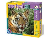 Puzzle Tygr My favorite animals