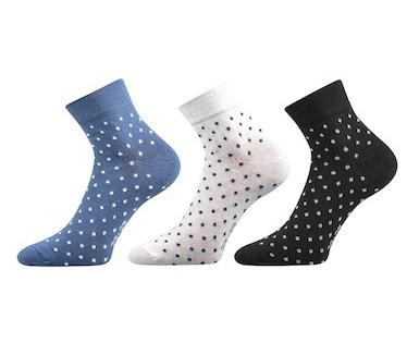 3x dámské ponožky Jana (Bo544) 9476f7a84a