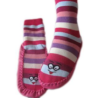 Domácí ponožky s podrážkou (3140) 70e79e4f96
